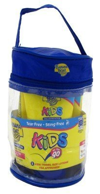 Banana Boat Kids Spf#50 On The Go (3) 2oz Tubes In A Bag by Banana Boat