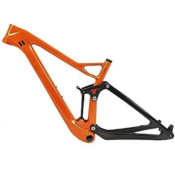 Tideace OEM Twinloc suspensión MTB 29 Marco de Bicicleta de ...