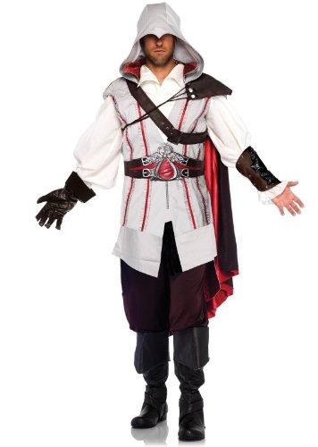 Men's Assassin's Creed 8 Piece Ezio Deluxe Deluxe Costume Cosplay