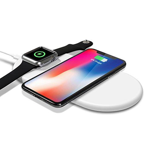 top4cus Soporte Expositor de Apple Watch, Base de Cargador Portátil de Metal de Generación Apple Watch Series 1/2/3/4 44mm...