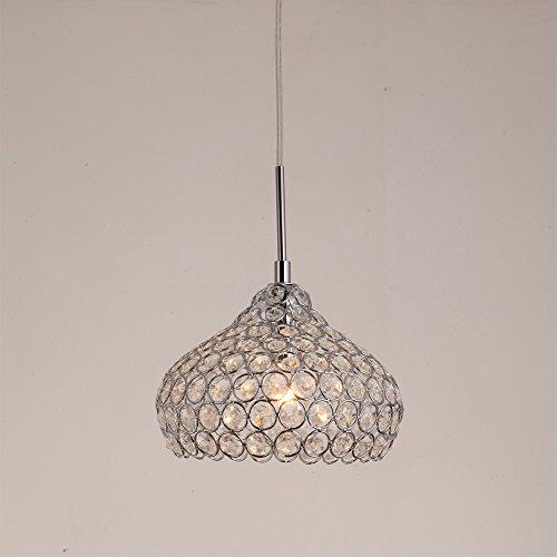 TomDa® Mini Modern Chandelier Drum Lighting K9 Crystal Ball Fixture Pendant Ceiling Lamp