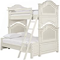 smartstuff 136A590 Gabriella 4  x 6 Bunk Bed Complete, Full, Lace