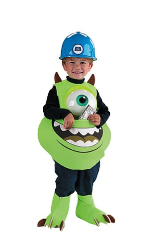 Monsters Inc Hard Hat (Mike Candy Catcher Costume,Fits up to size 6)