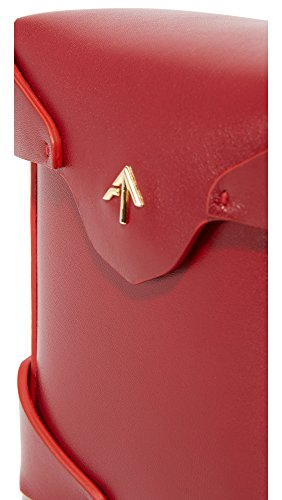 Bag Atelier MANU Red Pristine Women's Micro Box zfTXq
