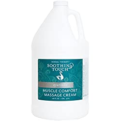 Soothing Touch Muscle Comfort Pumpable Massage Cream, 1 Gallon (pump not included)