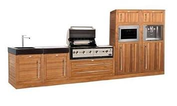 Außenküche Mit Xl : Boretti modulküche außenküche gartenküche bestehend aus 5 teilen