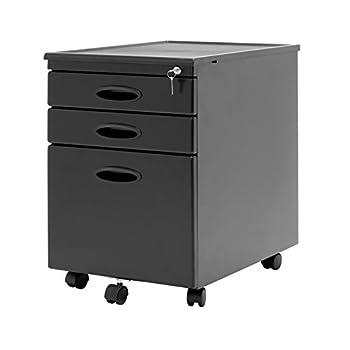 Calico Designs File Cabinet in Black 51100