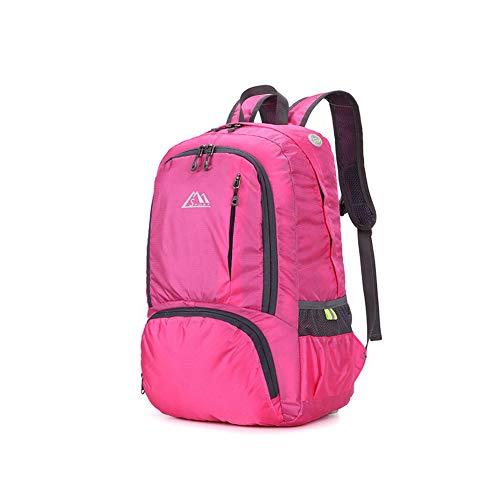 Pieghevole Comodo Escursionismo Outdoor Impermeabile Ultraleggero Zaino Maschio Lf Pink Femmina qTxUOW6Cnw