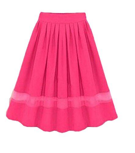 Fashion Rosy Slim Swing Fit Skirt Haililais Mousseline t Plisse Jupe Femelle Jupe Dcontracte Femme Jupe en Jupe ElGant WW6T0wfAq
