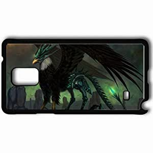 Personalized Samsung Note 4 Cell phone Case/Cover Skin Ace Online Black