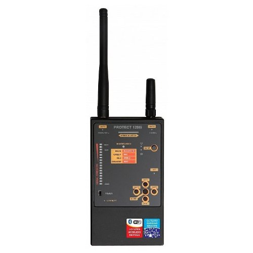 PROFESSIONAL GRADE DIGITAL AND ANALOG RF BUG DETECTOR FOR MU