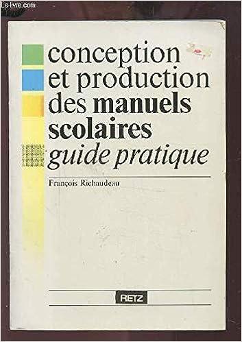Conception Et Production Des Manuels Scolaires Guide