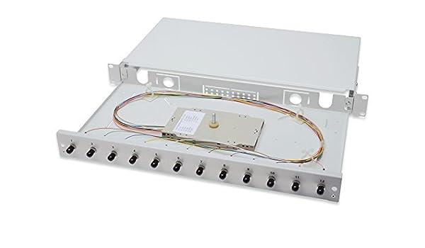 ASSMANN DN-96310/3 - Caja de Empalme de Fibra óptica, Gris: Amazon.es: Electrónica