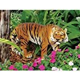 13″ Indonesian Wildlife Tiger Sculpture Statue Figurine Review