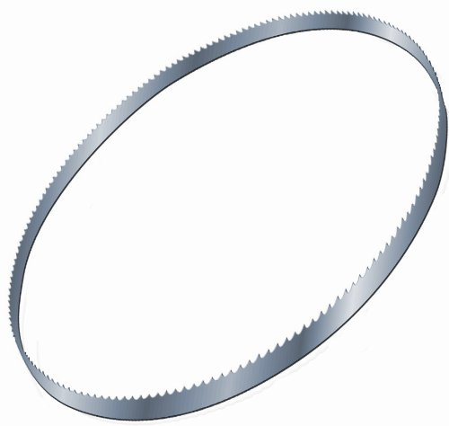 ZHEDS04 12-Feet 6-Inch Hard Edge Flex Back Carbon Band Saw Blade with 4TPI Skip, 1/2-Inch by .025-Inch ()