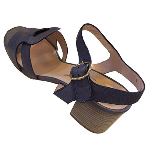 Robert Clergerie Leather Sandals Grey/Purple jt3Xhhq