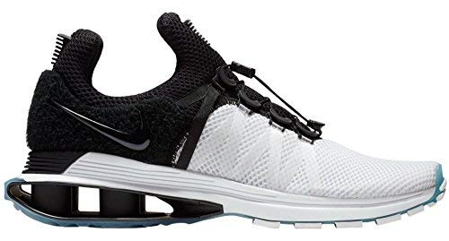 79d42809fc9 NIKE Men s Shox Gravity White Black White Nylon Running Shoes 9.5 (D) M US