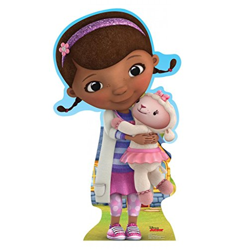 Doc McStuffins - Disney Junior's Doc McStuffins - Advanced Graphics Life Size Cardboard (Max Penny Halloween Costume)