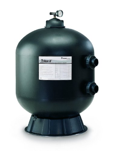 Pentair 140316 Triton C High Capacity Fiberglass Side Mount Sand Pool Filter, 7.06 Square Feet, 141 GPM (Residential), without Valve or Unions by Pentair