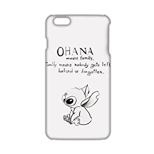 Cool-benz lilo and stitch ohana 3D Phone Case for iPhone 6 plus