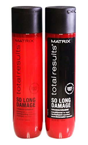 Matrix Total Results So Long Damage Shampoo & Conditioner Duo, 10oz Each (Best Shampoo And Conditioner For Long Hair)