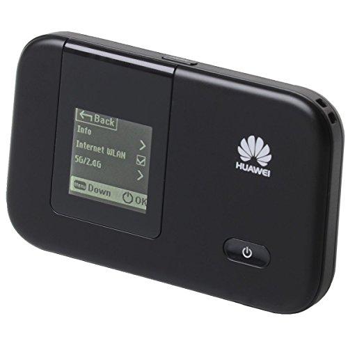 Huawei E5372 4G Mobile WiFi Hotspot (GSM, GPRS, UMTS, EDGE, HSUPA, HSPA+ WLAN MiFi Hotspot, LTE Cat.4 150Mbps) schwarz