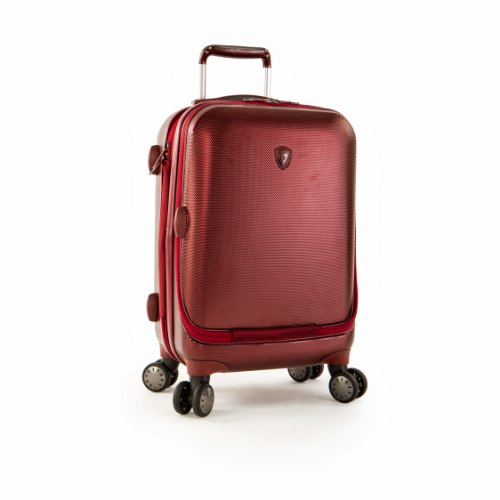 Heys - Crown Smart Portal Burgunderrot Trolley mit 4 Rollen Medium