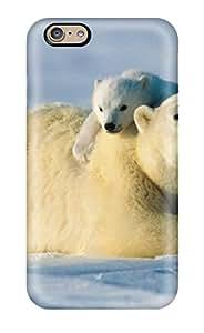 ZippyDoritEduard Case Cover For Iphone 6 - Retailer Packaging Polarbears Protective Case