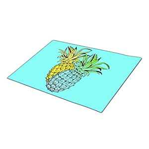 Tropical Fruit Monogrammed Door Mat Home Mat