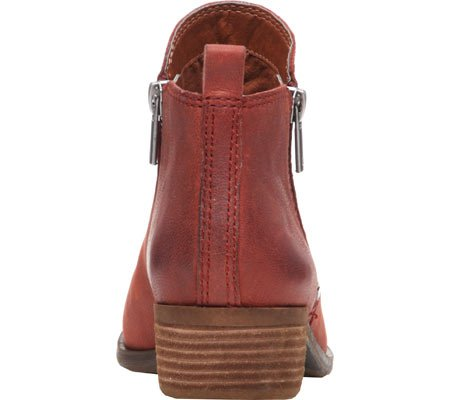 Boot Brand Women's Basel Lucky Leather Oxblood Ztfqxw6