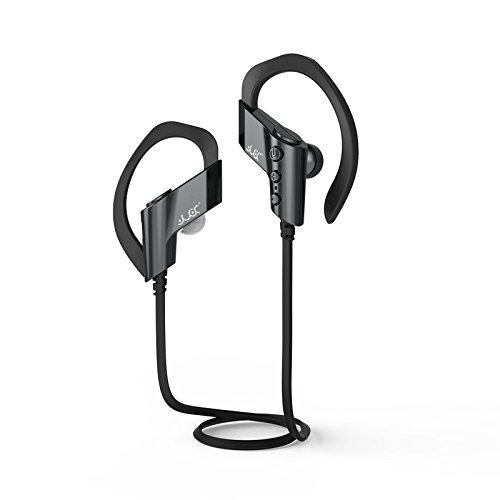 スポーツステレオBluetoothヘッドフォンs-501防水防汗仕様耳フックワイヤレスヘッドフォンマイク付き グレー B07CB4FZBB  グレー