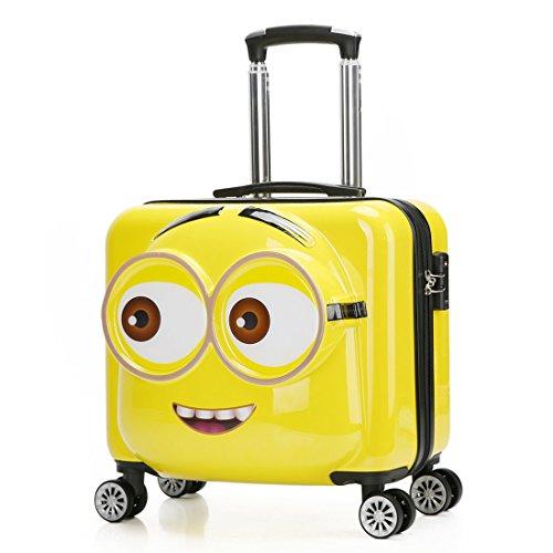 7eddea2084cf Heys America Unisex Universal Studios Minions Kids Softside Luggage ...