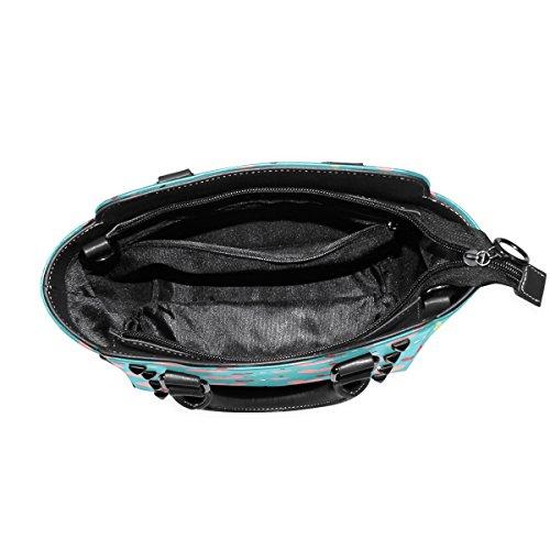 Women's TIZORAX TIZORAX Love Shoulder Love Bags Leather Tote Handbags Hearts qOA1Ix5A