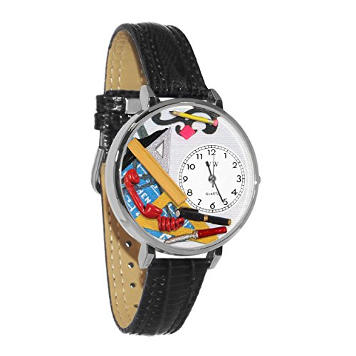 Whimsical Watches Unisex U0610020 Architect Black Leather -