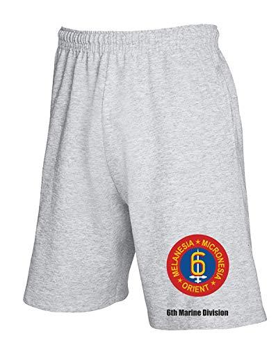 Usmc Pantaloncini Usa Grigio Div Tm0353 T shirtshock Marine 6th Tuta ZU88Fxgq