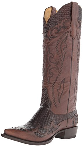 Stetson Women's Bailey Western Boot, Vintage Chocolate, 6.5 M (Western Cowboy Vintage Brown Boot)