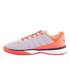Kswiss HYPERMATCH HB Naranja Fluor Gris: Amazon.es: Deportes ...