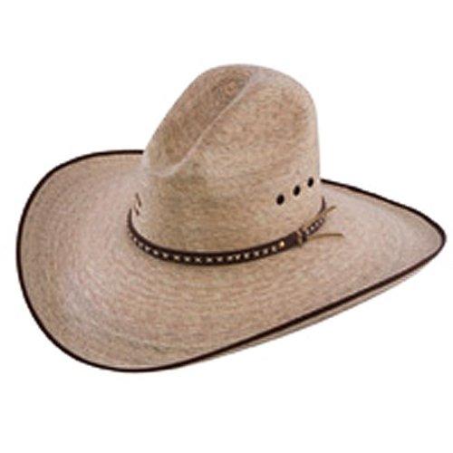 Charlie 1 Horse Men's 15X Bandito Straw Cowboy Hat Natural 7 1/2