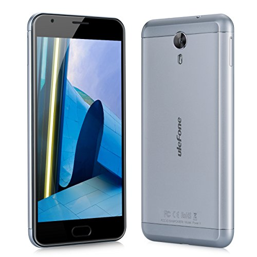 Ulefone power 2 Smartphone 4G IPS Android 7.0 4GB RAM 64GB ROM 13.0MP Back Camera 8.0MP Front Camera Quick Charger Big Battery Touch Sensor OTG Gyro Sensor Cellphone Grey