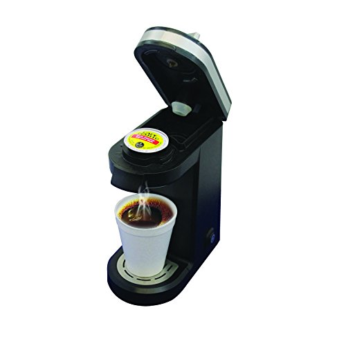 Mega Cocina Single Serve Compact K Cup Brewer Review One Single Cup