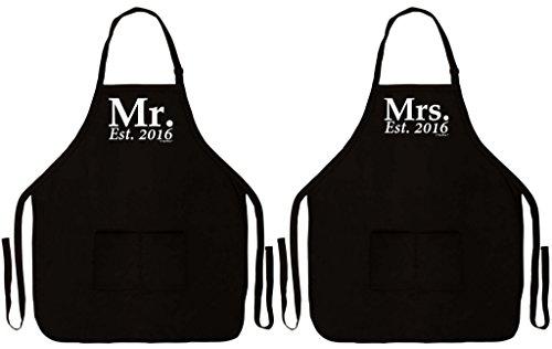 Wedding Established Husband Kitchen Grilling