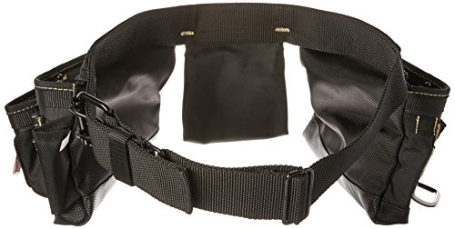 (MagnoGrip 002-382 12-Pocket Magnetic Carpenter's Tool Belt, Black)