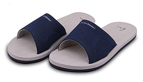 Zapatillas de ducha o piscina antideslizantes, de espuma, playa, para adultos gris