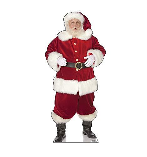 Ho Santa - Advanced Graphics Ho! Ho! Santa Life Size Cardboard Cutout Standup