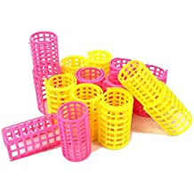 Plastic DIY Grip Cling Hair Roller Curler Clips Hair Styling Hairdressing (...