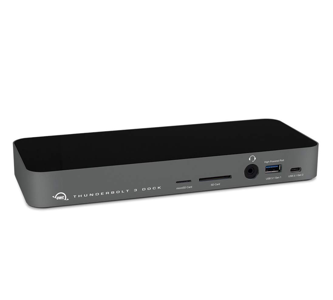 OWC 14-Port Thunderbolt 3 Dock with Cable, Compatible with Windows PC and Mac, Space Gray, (OWCTB3DK14PSG) by OWC (Image #1)