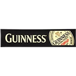 Guinness Rubber Bar Top Mat - Extra Stout Label 20\
