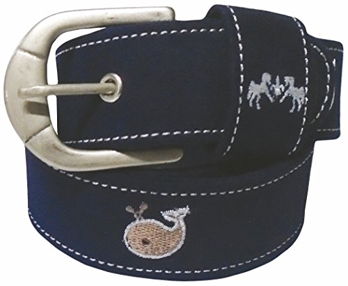 Equine Couture Whales Suede Belt ()