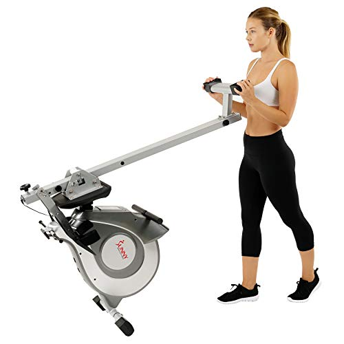 Sunny Health & Fitness Magnetic Rowing Machine with LCD Monitor by SF-RW5515 by Sunny Health & Fitness (Image #12)