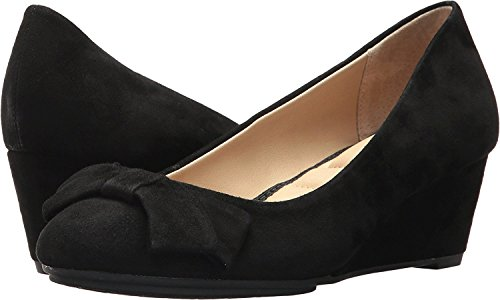 Me Too Womens Rhea Black Kid Suede baEzZ